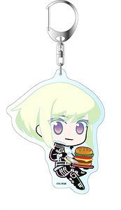 Promare Big Key Ring Lio Fotia American Diner Ver. (Anime Toy)