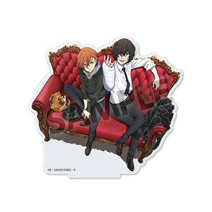 Bungo Stray Dogs Acrylic Stand Dazai & Nakahara Fifteen Years Old Ver. (Anime Toy)