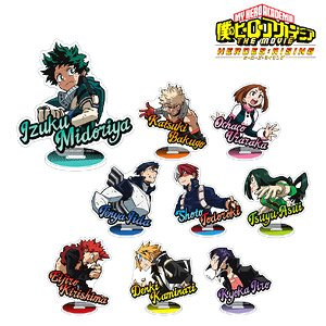 My Hero Academia The Movie Heroes Rising Trading Acrylic Stand Set Of 9 Anime Toy Hobbysearch Anime Goods Store