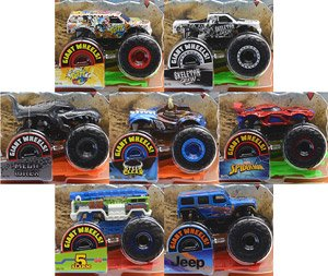 Hot Wheels Monster Truck Assort 1 64 Set Of 8 Completed Hobbysearch Toy Store