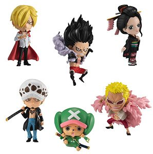 *One Piece Advarge Motion 3 Set (Shokugan)