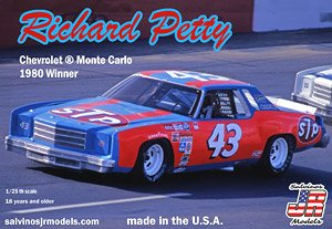 nascar 80 winner chevrolet monte carlo richard petty 43 model car hobbysearch model car kit store nascar 80 winner chevrolet monte carlo