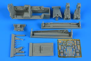 Tornado Ids Early V. Cockpit Set (for Revell) (Plastic model)