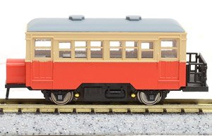 Single Ended Railcar Basket Type (Color: J.N.R. Color / with Motor) (Model Train)