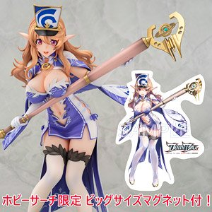 [w/Bonus Item] Death Ball Kikyou w/Hobby Search Big Character Magnet Illustrated by AkasaAi (PVC Figure)