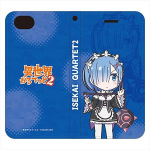 Isekai Quartetto 2 iPhone Cover (for iPhone 6/7/8) Rem (Anime Toy)
