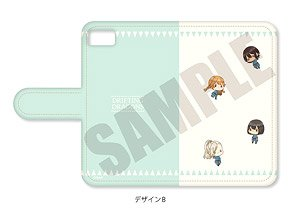 [Drifting Dragons] Notebook Type Smart Phone Case (iPhone6/6s/7/8) Pote-B (Anime Toy)