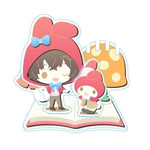 Bungo Stray Dogs x Sanrio Characters Accessory Stand Osamu Dazai x My Melody (Anime Toy)