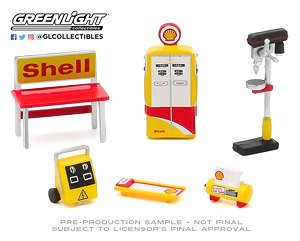 Auto Body Shop - Shop Tool Accessories Series 3 - Shell Oil (ミニカー)