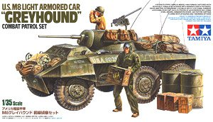 US M8 Greyhound Combat Patrol Light Armored Car (Plastic model)