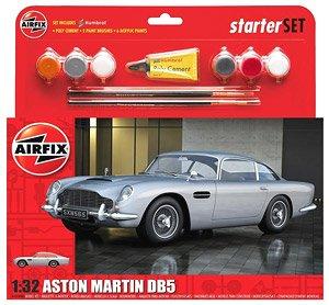 Aston Martin Db5 Silver Starter Set Model Car Hobbysearch Model Car Kit Store