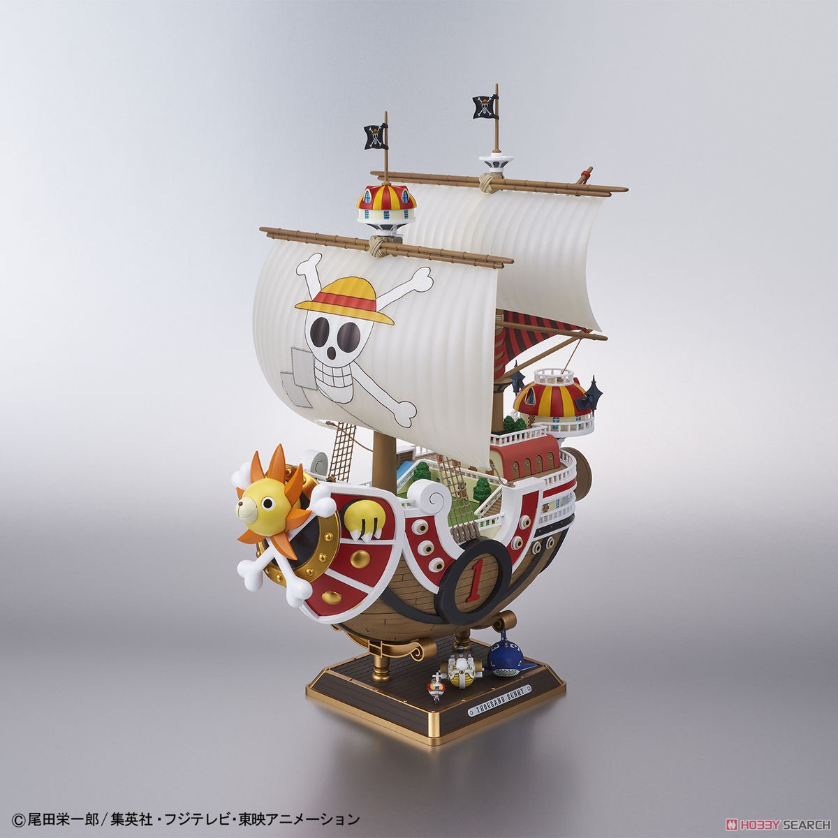 Thousand Sunny Land of Wano Ver. (Plastic model) Item picture1
