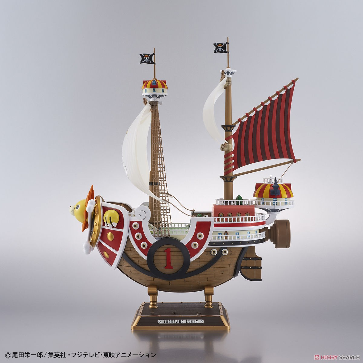 Thousand Sunny Land of Wano Ver. (Plastic model) Item picture2