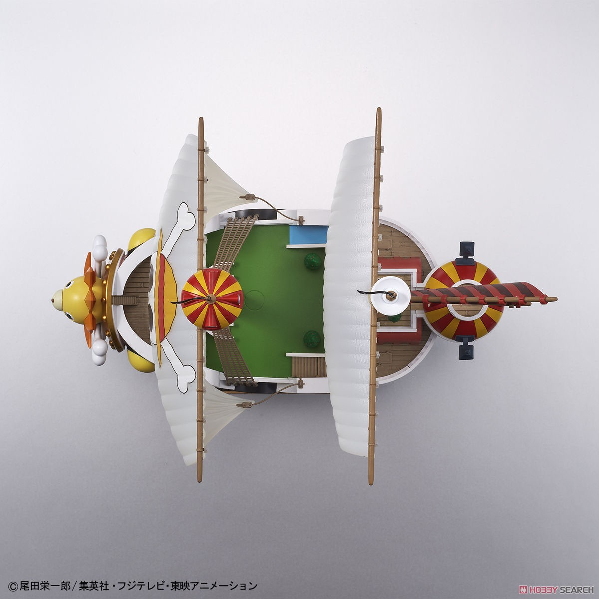Thousand Sunny Land of Wano Ver. (Plastic model) Item picture3