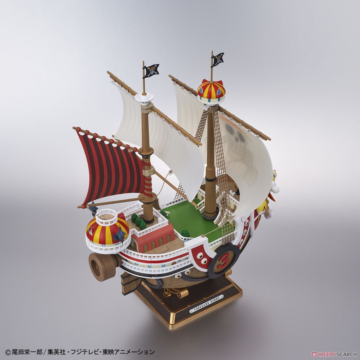 Thousand Sunny Land of Wano Ver. (Plastic model) Item picture6