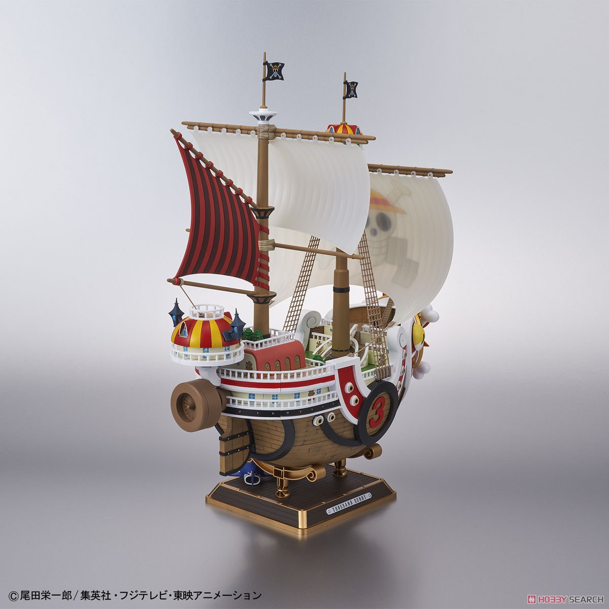 Thousand Sunny Land of Wano Ver. (Plastic model) Item picture7