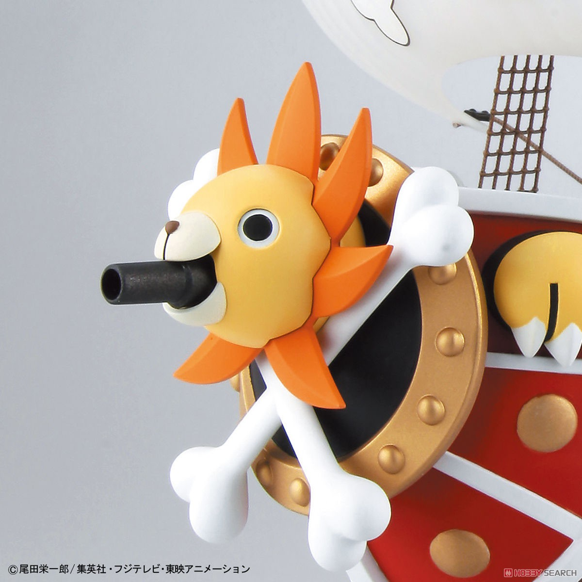 Thousand Sunny Land of Wano Ver. (Plastic model) Item picture9