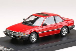 Honda Prelude XX (AB1) Early Type Dominican Red (Diecast Car)