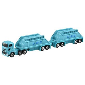 Long Type Tomica No.129 Ube Industries Doubles Trailer (Tomica)