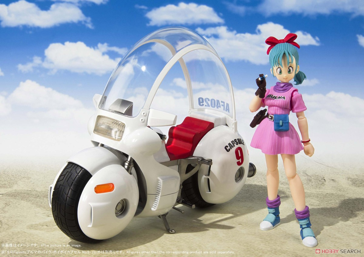 S.H.Figuarts Bulma`s Motorcycle -Hoipoi Capsule No.9- (PVC Figure) Other picture1