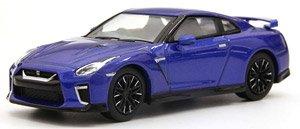 ニッサン GT-R (ブルー) (ミニカー)