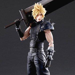 Final Fantasy VII remake Cloud Strife Trading Arts Figure