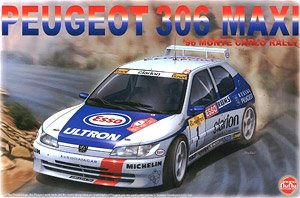 1/24 Racing Series Peugeot 306 Maxi 1996 Rally Monte Carlo (Model Car)