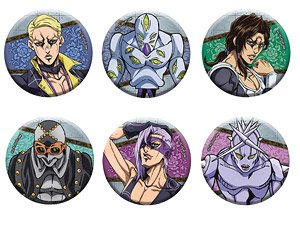 Jojo S Bizarre Adventure Golden Wind Can Badge Collection Hitman Team Vol 2 Set Of 6 Anime Toy Hobbysearch Anime Goods Store