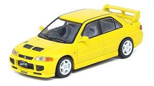 三菱 ランサー エボリューションIII 1995 イエロー (ミニカー)
