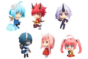 That Time I Got Reincarnated as a Slime Trading Figure (Set of 6) (PVC Figure)