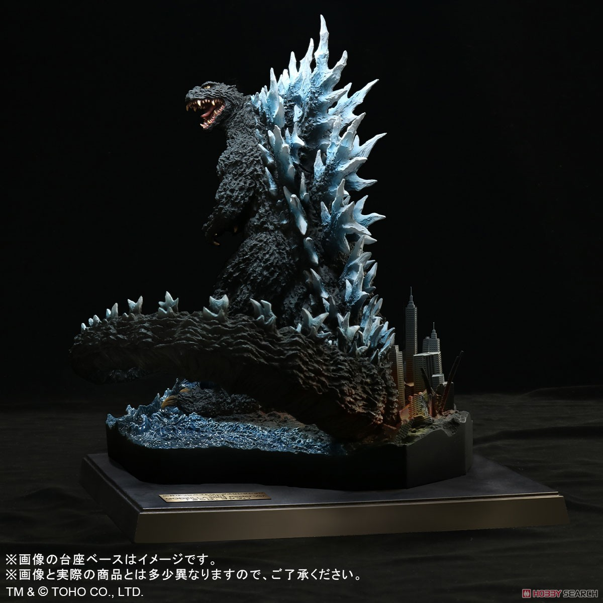 Real Master Collection Yuji Sakai Best Works Selection Godzilla (2004) Poster Version `Farewell, Godzilla.` (Completed) Item picture1