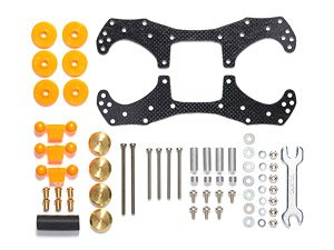 GP526 VZ Chassis First Try Parts Set (Mini 4WD)