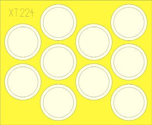 Masking Sheet for Su-122 (for Zvezda) (Plastic model)