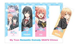 My Teen Romantic Comedy Snafu Fin Clear Bookmark (Anime Toy)