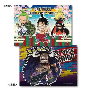 One Piece A4 Clear File Wano Country Ver. A: Luffy & Zoro & Sanji / Kaido  (Anime Toy) - HobbySearch Anime Goods Store