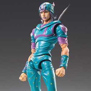 Super Figure Action JoJo`s Bizarre Adventure Part 7 [Johnny Joestar Second] (PVC Figure)