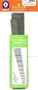 1/80(HO) [memory`s] Concrete Wall w/Hole Kit (Model Train)