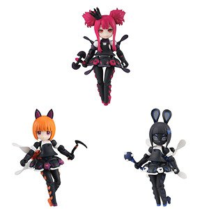 Desktop Army K-303d Melissa Series (Set of 3) (PVC Figure)