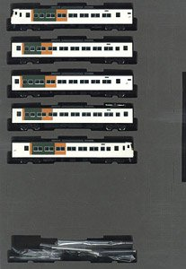 J.R. Limited Express Series 185-0 (Odoriko, New Color, Reinforced Skirt) Standard Set B (Basic 5-Car Set) (Model Train)