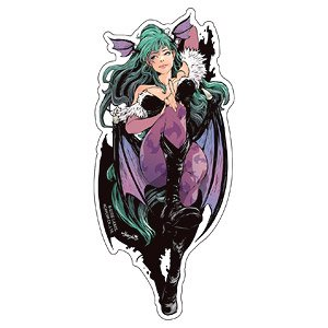 Capcom x B-Side Label Sticker Capcom Girl Morrigan (Anime Toy)