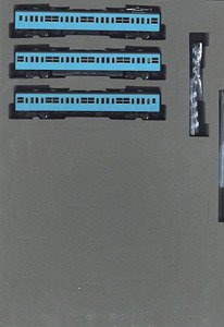 J.N.R. Commuter Train Series 103 (Early Type Non-air-conditioned Car, Skyblue) Standard Set (Basic 3-Car Set) (Model Train)