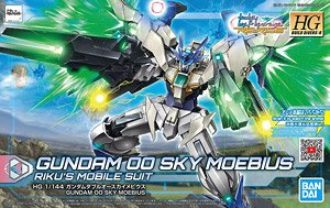 *00 Gundam Type New Mobile Suit (HGBD:R) (Gundam Model Kits)