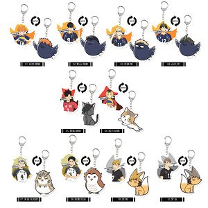 Haikyu!! To The Top Moving Acrylic Key Ring Vol.1 (Set of 10) (Anime Toy)