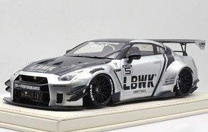 LB-WORKS 日産 GT-R R35 V2.0 LBWK Silver (ミニカー)