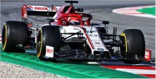 Alfa Romeo Racing F1 C39 Robert Kubica Testing Session 19.02.2020 1:43 Model