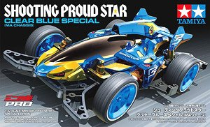 Shooting Proud Star Clear Blue Special (MA Chassis) (Mini 4WD)