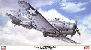 SBD-3 ドーントレス`ミッドウェー 1942` (プラモデル)