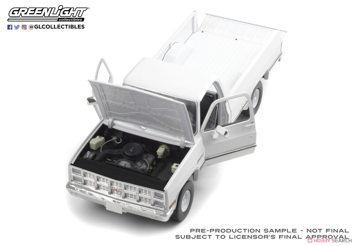 1982 Gmc K 2500 Sierra Grande Wideside White Diecast Car Item Picture3