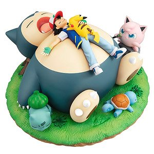G.E.M. Series Pokemon Good Night with the Snorlax (PVC Figure)