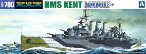HMS Kent (Plastic model)